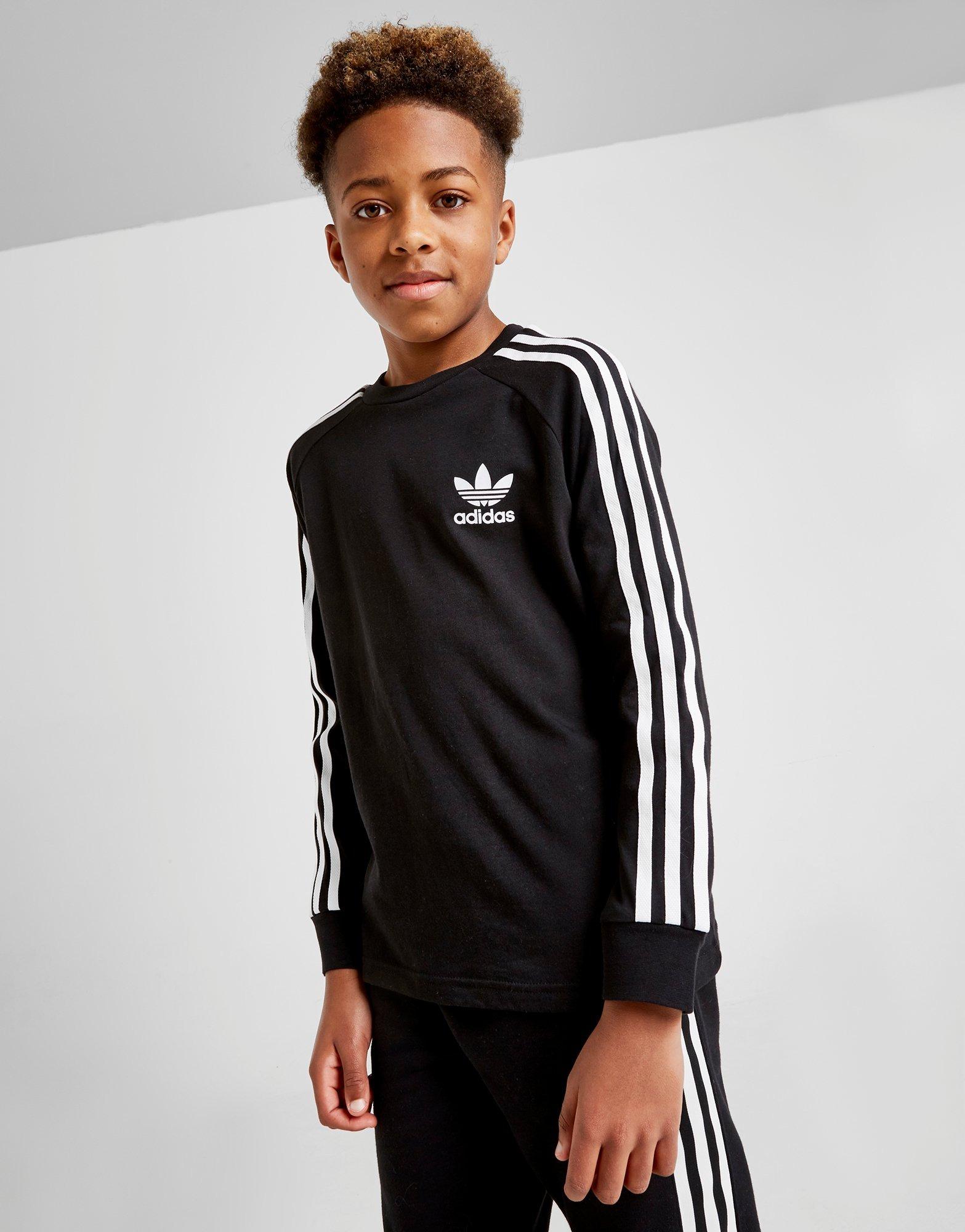 Køb adidas Originals California T Shirt Junior i Hvid   JD