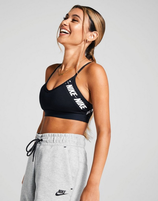 Nike Training Indy Logo Bra