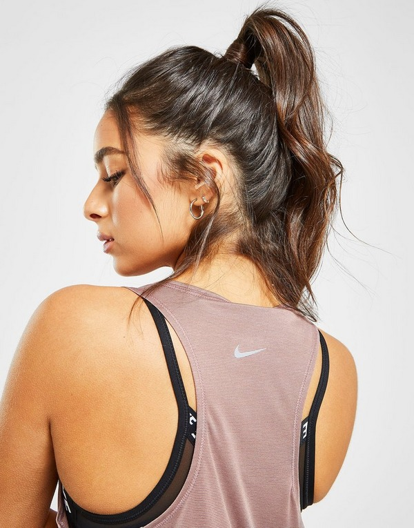 Nike camiseta de tirantes Running Miler Swoosh
