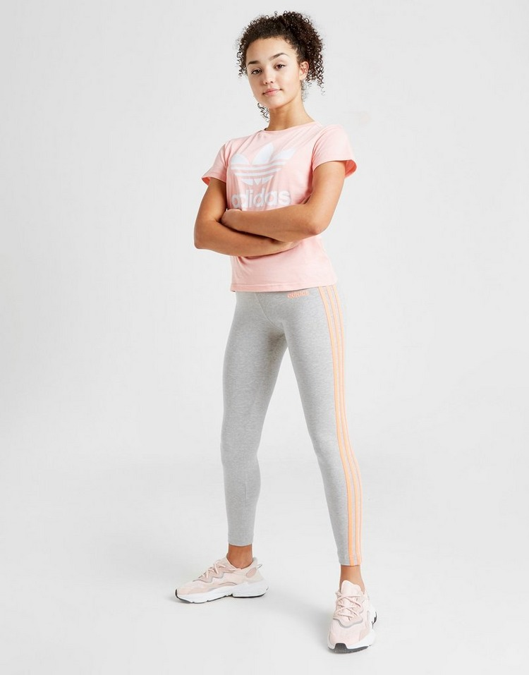 adidas Girls' 3-Stripes Core Leggings Junior