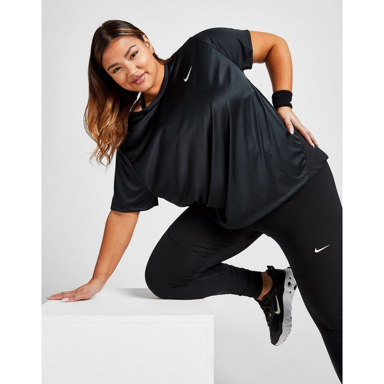 Nike Nike Miler Women's Short-Sleeve Running Top (Plus Size)