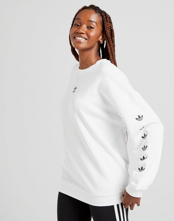 Shoppa adidas Originals Repeat Trefoil Crew Sweatshirt Dam i