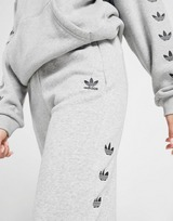 adidas Originals Pantalon de survêtement Repeat Trefoil Fleece Femme