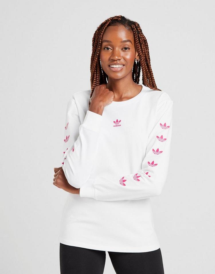Shoppa adidas Originals Repeat Trefoil Långärmad T Shirt Dam