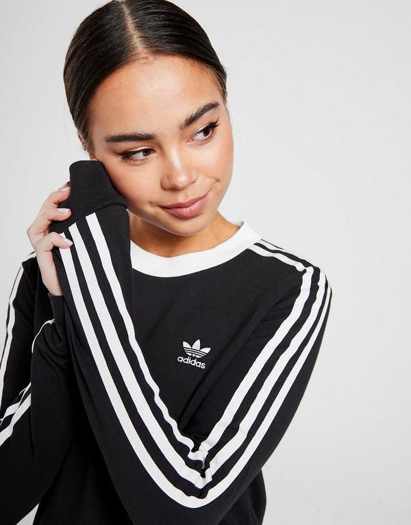 Shoppa adidas Originals 3 Stripes California Långärmad T