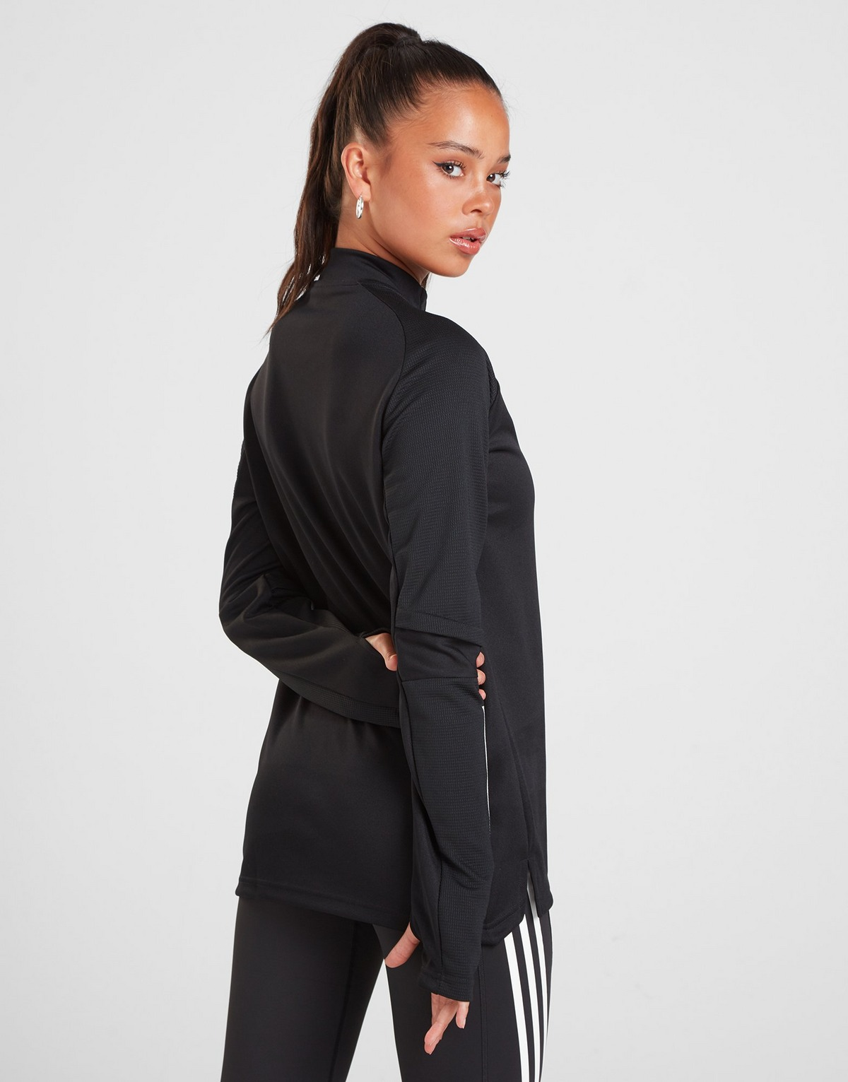 Adidas Condivo 1/4 Zip Track Top Women's
