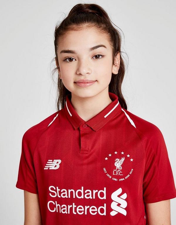 New Balance PRÉ-COMMANDE Maillot Domicile Liverpool FC 18/19 '6 Times' Junior