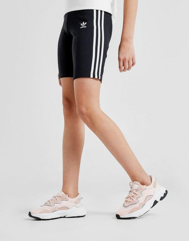 adidas Originals Girls' 3-Stripes Cycle Shorts Junior