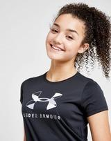 Under Armour Girls' Tech Big Logo T-Shirt Junior