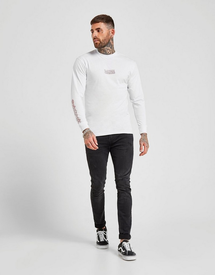 Vans Off The Wall Framework Long Sleeve T-Shirt