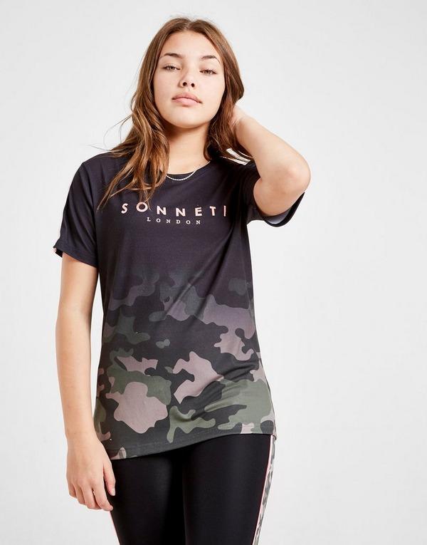 Sonneti Girls' Camo Gradient Boyfriend T-Shirt Junior