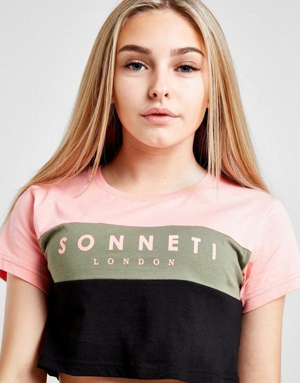 Sonneti Girls' Kinzie Crop Top Junior