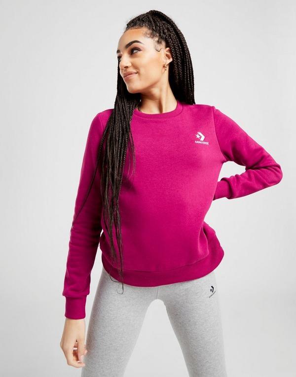 Converse Star Chevron Crew Sweatshirt Dames