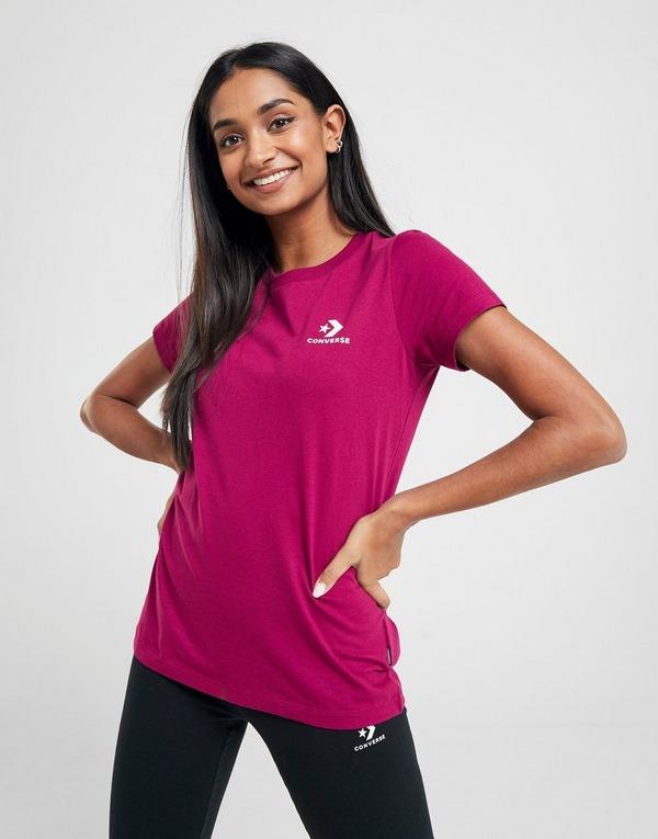 tee-shirt converses avec logo pour femme
