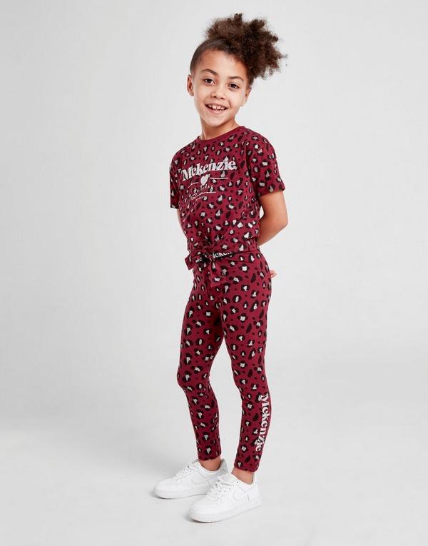 McKenzie Girls' Mini Bella T-Shirt/Leggings Set Children