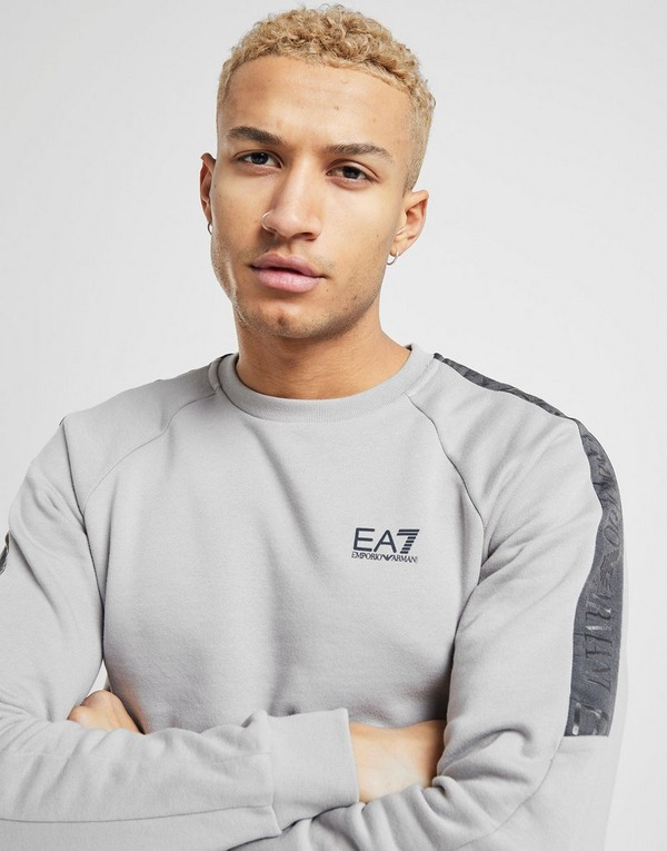 Emporio Armani EA7 Grain Tape Crew Neck Sweatshirt