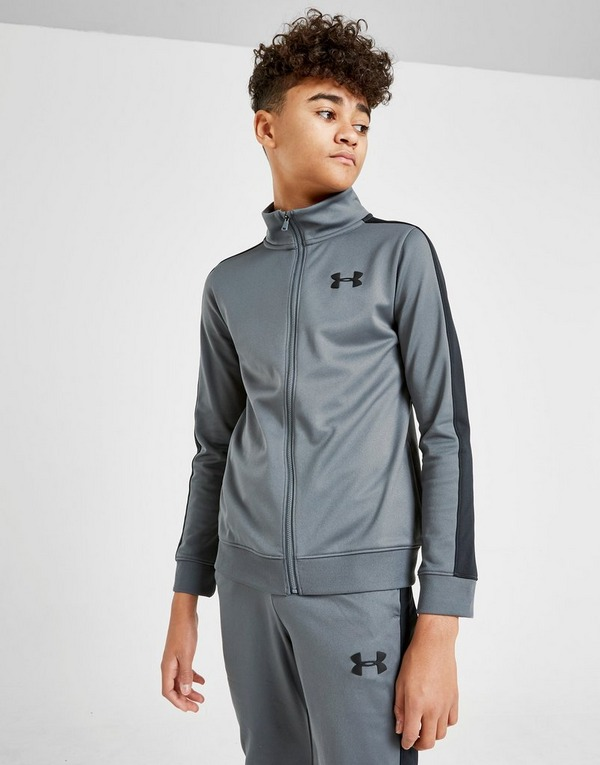 Under Armour Poly Tape Tracksuit Junior