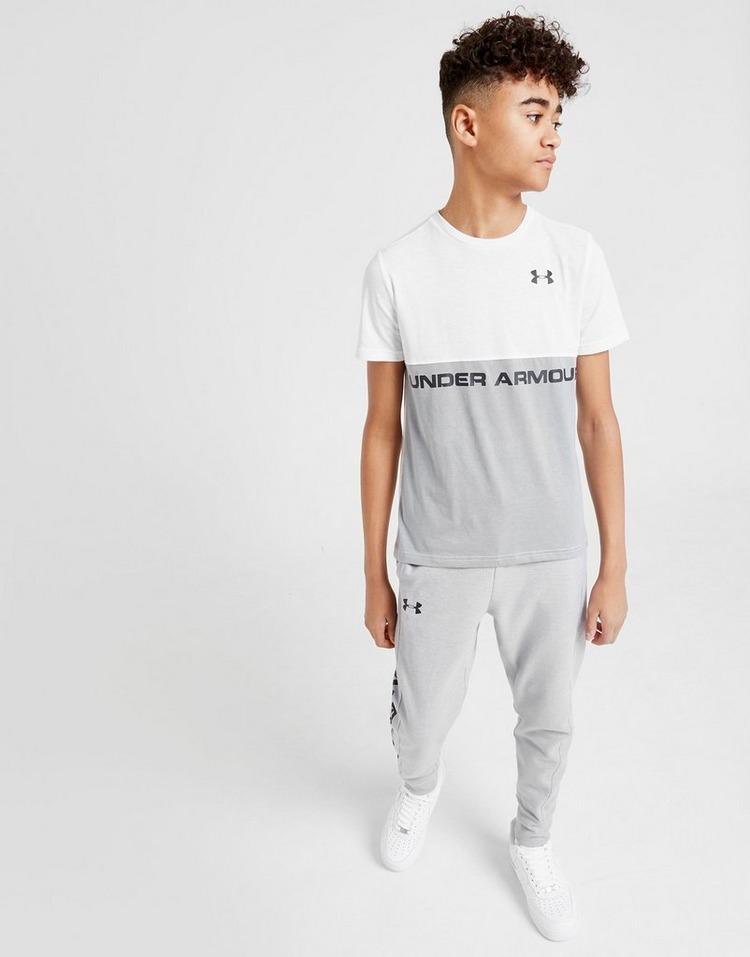 Under Armour Sportstyle Colour Block T-Shirt Junior