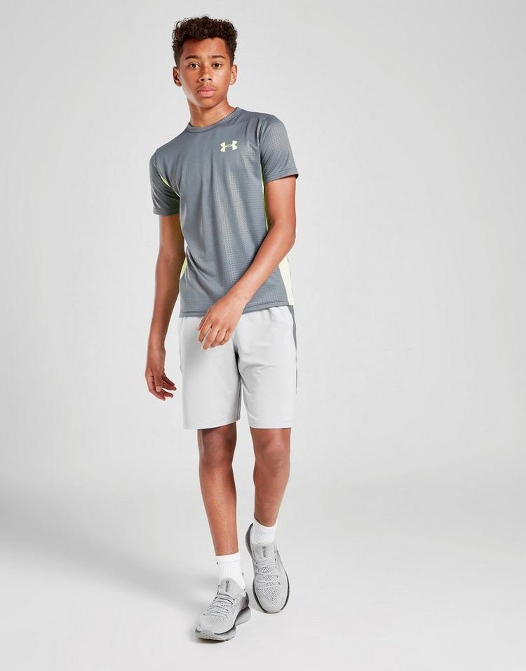 Under Armour MK1 Embossed Short Sleeve T-Shirt Junior