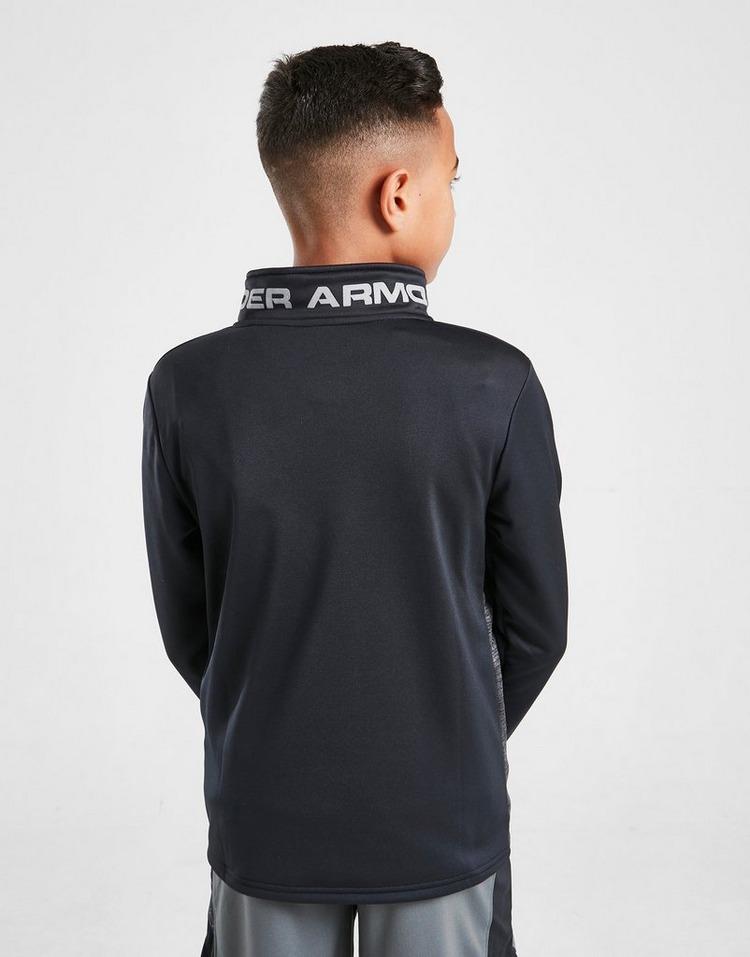 Under Armour Fleece Reflective 1/4 Zip Track Top Junior