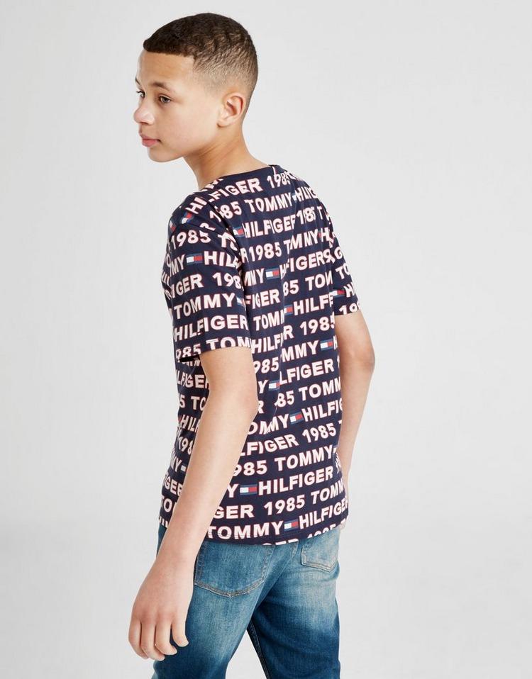 Tommy Hilfiger All Over Print T-Shirt Junior