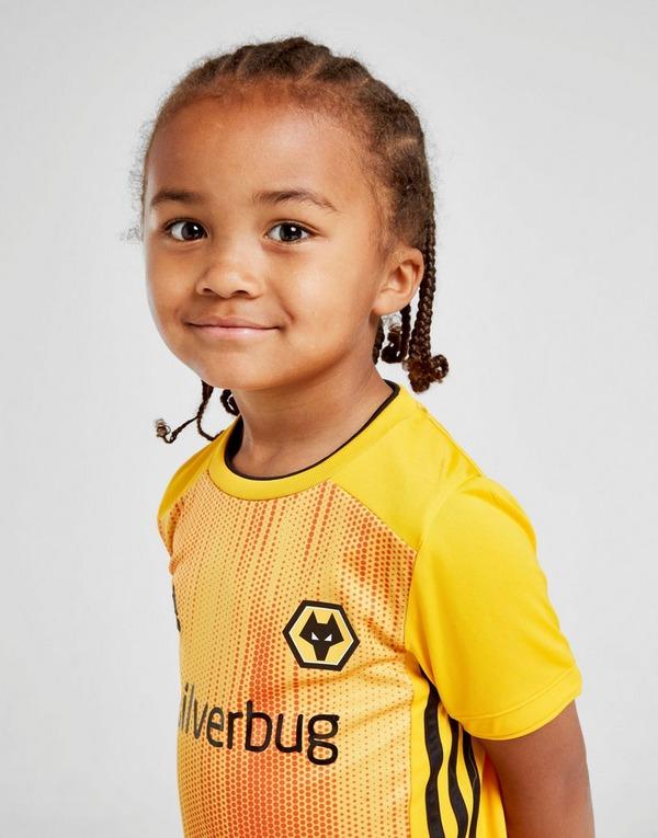 adidas Wolverhampton Wanderers 2019/20 Home Kit Children