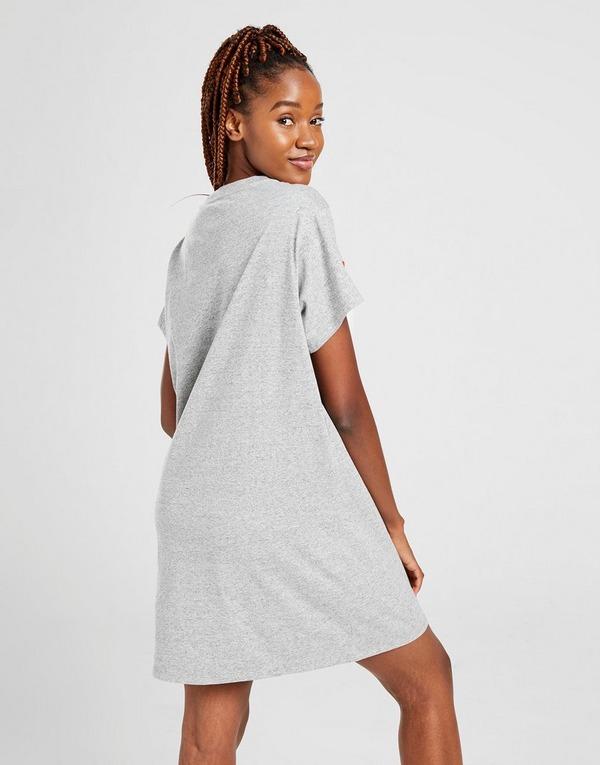 Levis Logo Panel T-Shirt Dress Dames