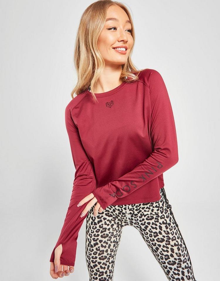 Pink Soda Sport T-Shirt Manches Longues Femme