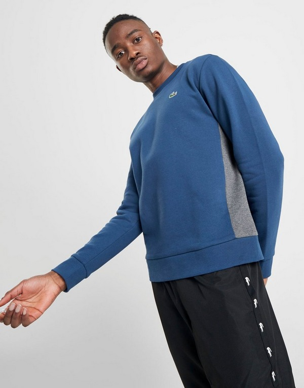 Lacoste Side Panel Crew Sweatshirt