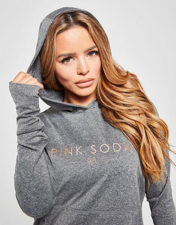 Pink Soda Sport Core Long Sleeve Fitness Hoodie