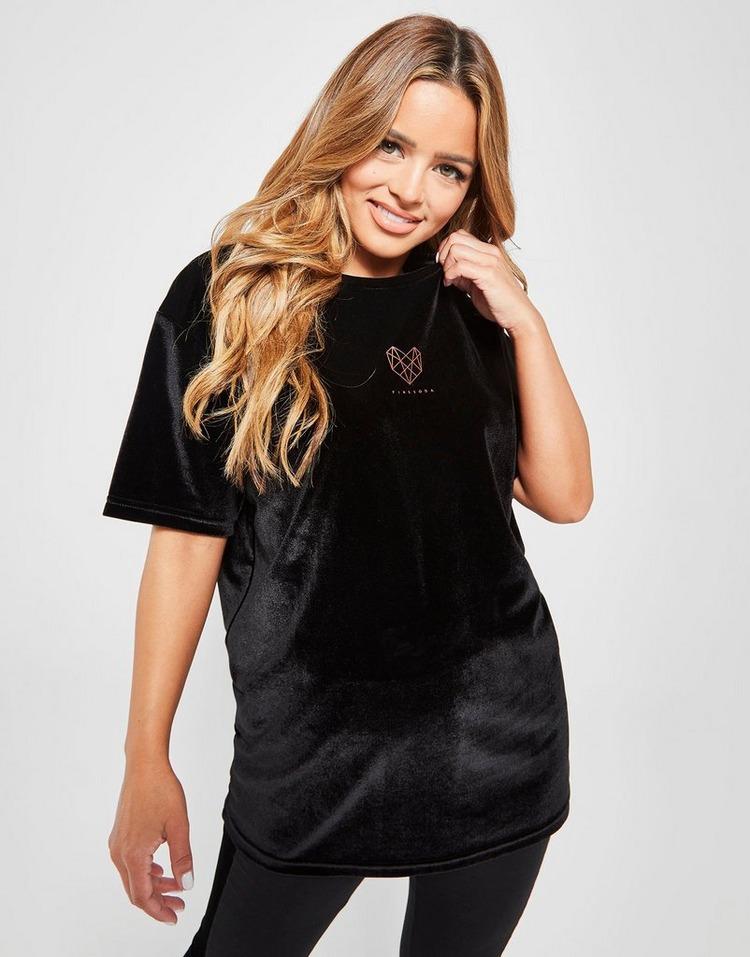 Pink Soda Sport Velvet Short Sleeve T-Shirt