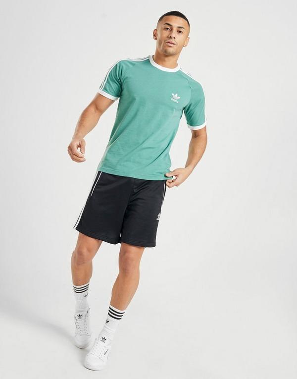 outlet entrega gratis seleccione para auténtico Compra adidas Originals camiseta 3-Stripes California en Verde ...