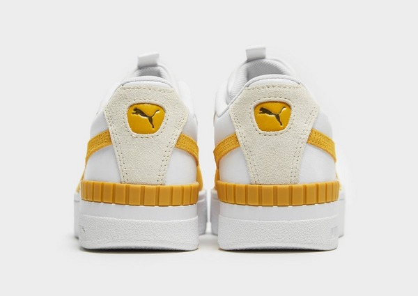 puma basket cali sport femme jaune