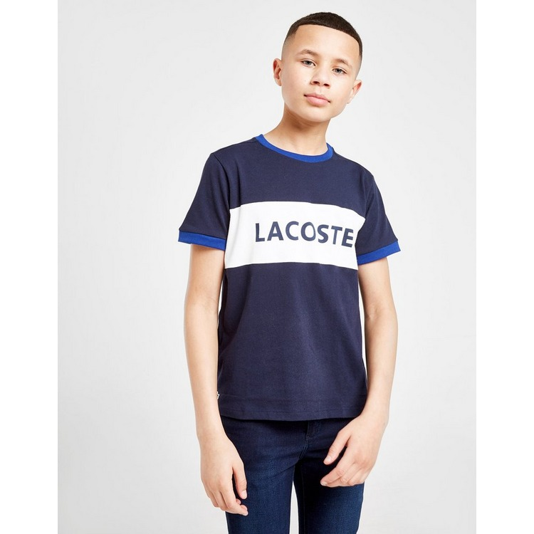 Lacoste T-Shirt Colour Block Linear Enfant