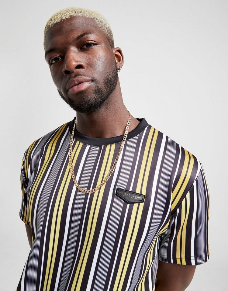 Supply & Demand Pinstripe T-Shirt