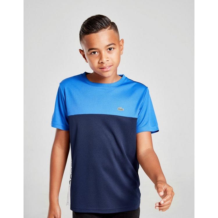 Lacoste Colour Block Poly T-Shirt Junior