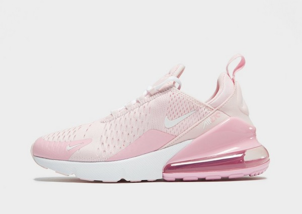 nike air max 270 junior pink and white