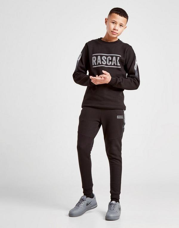 Rascal Reflective Fleece Crew Sweatshirt Junior