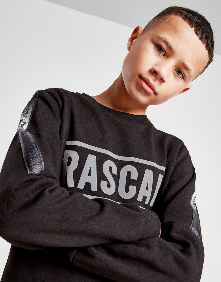 Rascal Reflective Fleece Crew Sweatshirt Junior