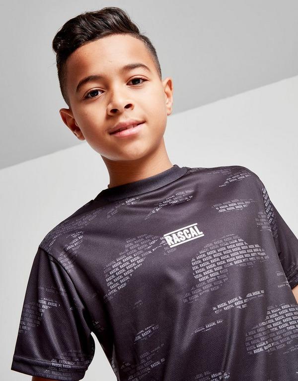 Rascal House Camo All Over Print T-Shirt Junior