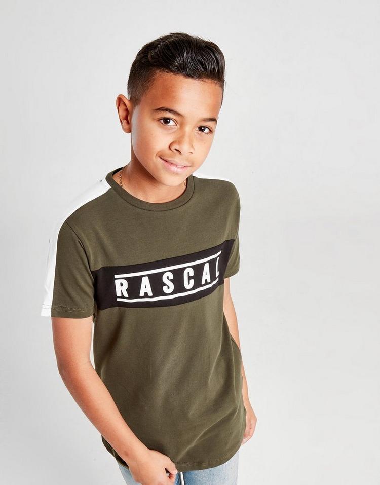 Rascal camiseta Nemen Colour Block júnior
