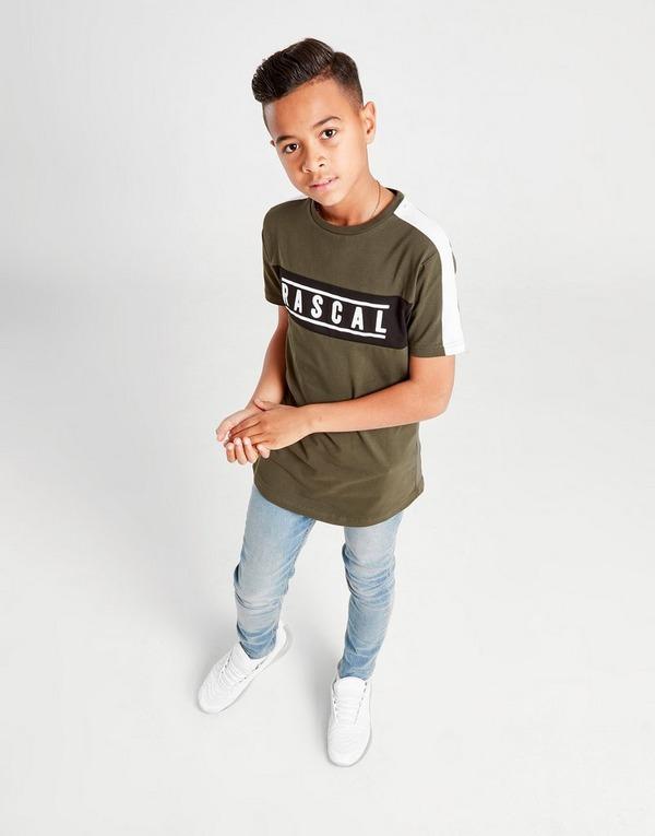 Rascal Nemen Colour Block T-Shirt Junior