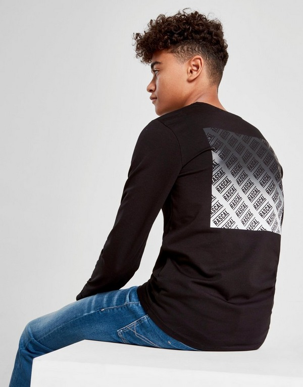 Rascal Real Ombre Long Sleeve T-Shirt Junior