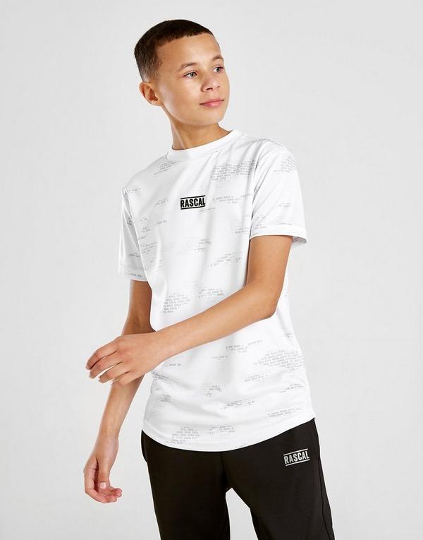 Rascal Camo All Over Print T-Shirt Junior