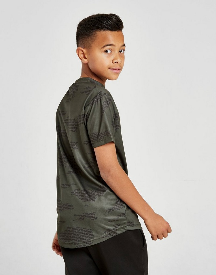 Rascal Camo All Over Print T-Shirt Junior