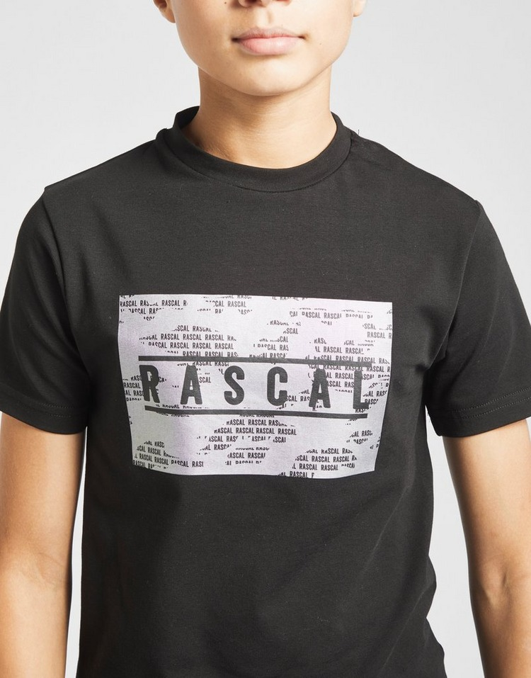 Rascal Iridescent Camo T-Shirt Junior