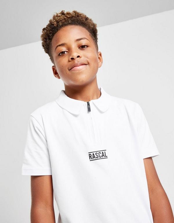 Rascal Zip Polo Shirt Junior