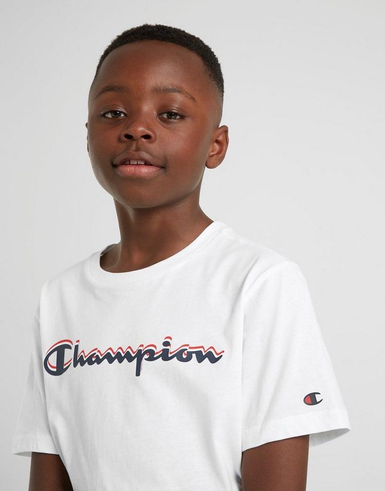 Champion camiseta Large Logo  júnior