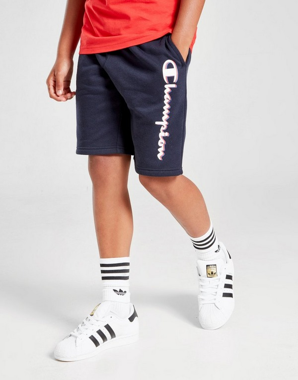 Champion French Terry Logo Shorts Junior