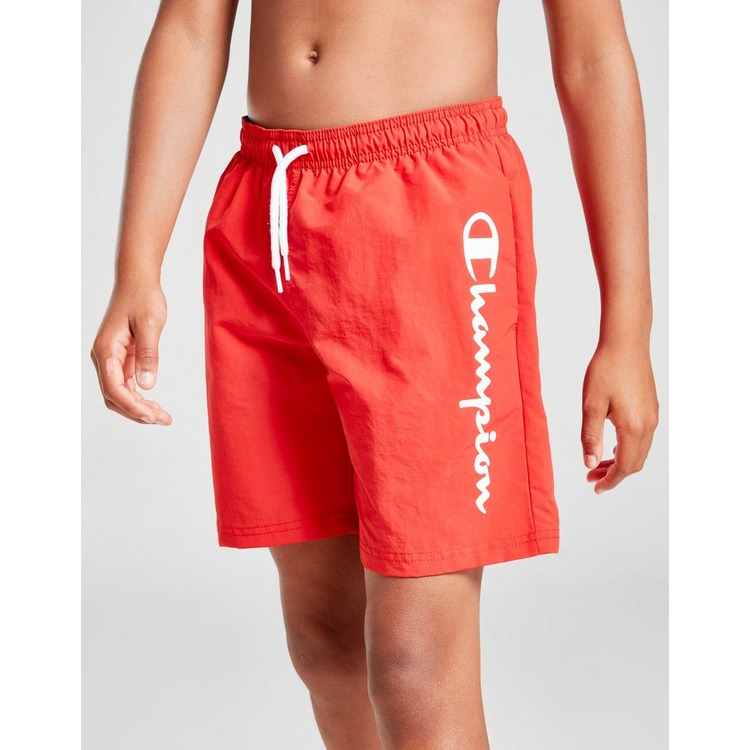 Champion Logo Swim Shorts Junior